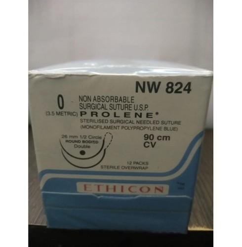 Ethicon Prolene(Polypropylene) Suture NW824
