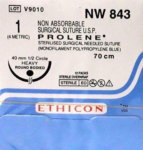 Ethicon Prolene(Polypropylene) Suture NW843