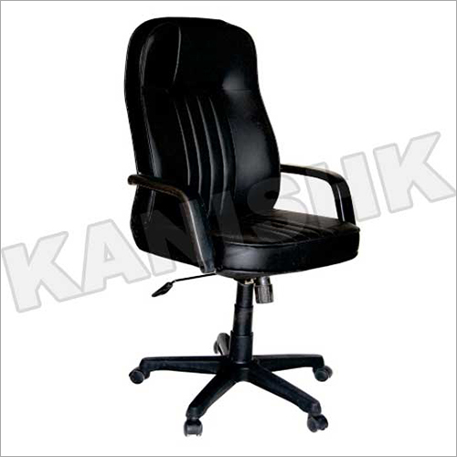 Rexine Leather High Back Revolving Chair