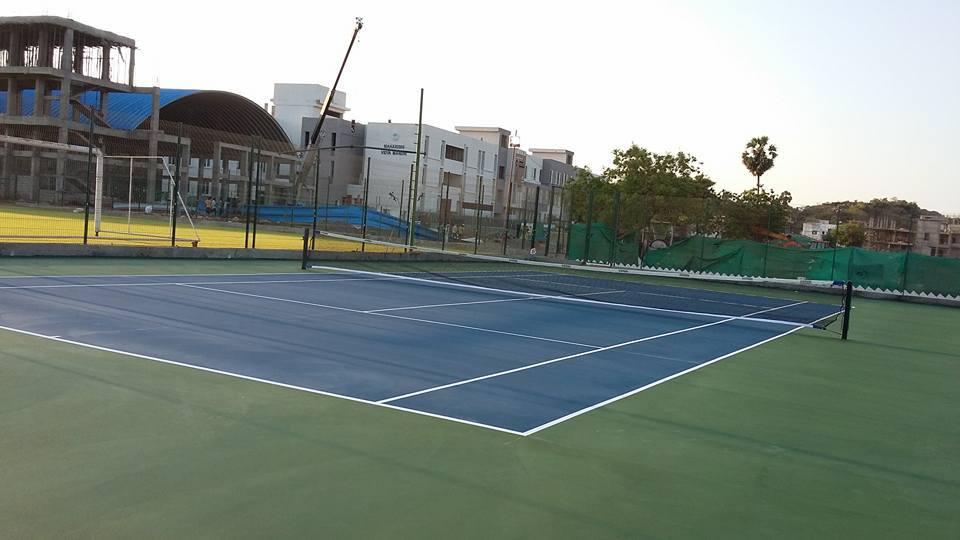Sposyn Tennis Synthetic Flooring