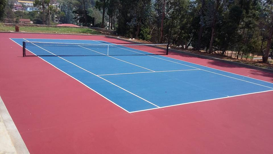Sposyn Tennis Synthetic Flooring