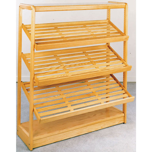 Wooden Display Bakery Rack