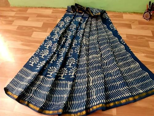 Hand Block Print Saree