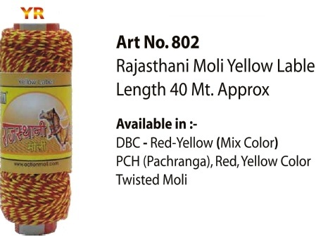 Rajasthani Moli Yellow Lable