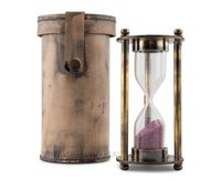 Hour Glass – Leather Case