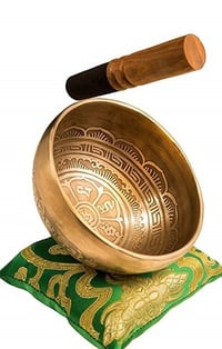 Excellent Resonance Healing & Meditation Yoga Bowl with Mallet