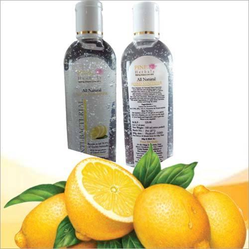 Lemon Hand Sanitizer