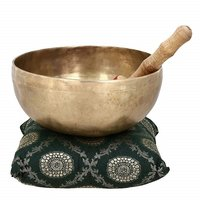 Religious Handmade Singing Bowl Buddhist Bell for Meditation and Healing