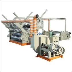 Double Profile Fingerless Heavy Duty High Speed Bearing mounted Paper Corrugation Machine