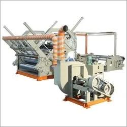 Double Profile Fingerless Heavy Duty High Speed Bearing Mounted Paper Corrugation Machine Box Size: Custom
