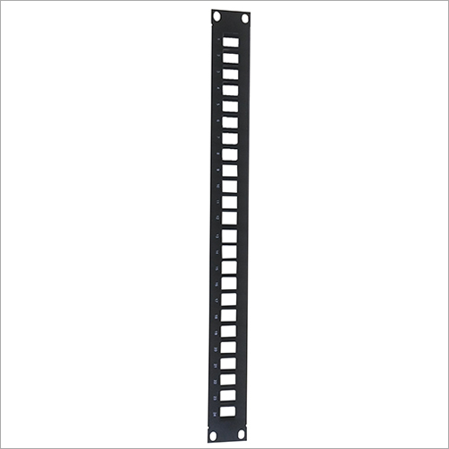 1U 24 Port Modular Blank Panel