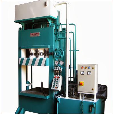 Hydraulic Deep Draw Press with Blank Holder