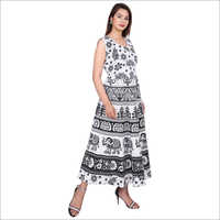 Ladies Jaipuri Maxi Dress