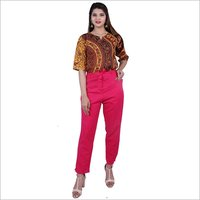 Ladies Jaipuri Printed Top