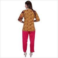 Ladies Jaipuri Printed Top