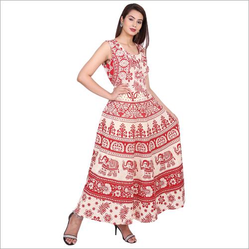 Jaipuri Printed Maxi Dress