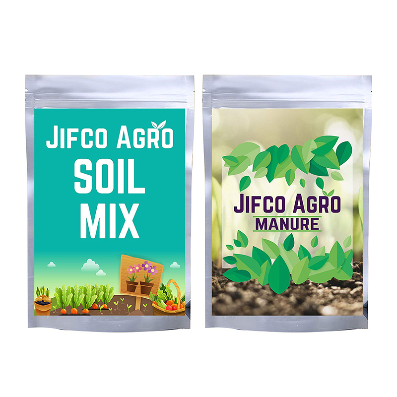 DUCANT INDIA Soil Mix and Manure Combo for Flowering Plants, Fruits & Vegetable_1KG Each