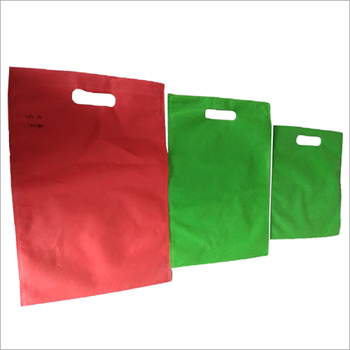 D Cut Multicolored Non Woven  Bags