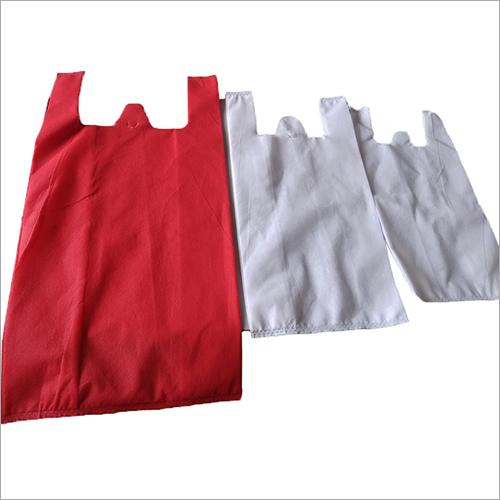 W Cut Non Woven hand Bag