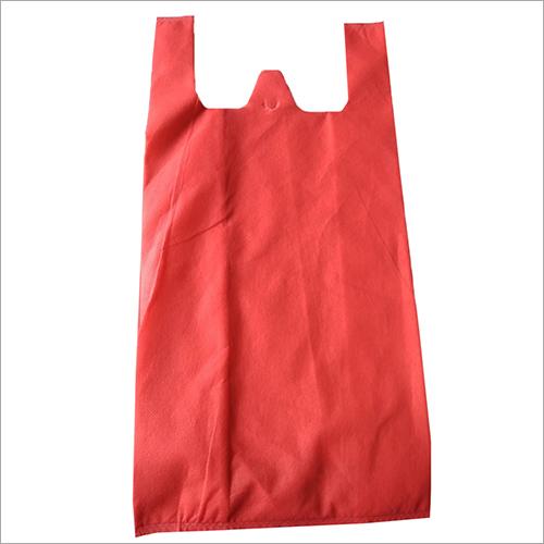 W Cut Non Woven Plain Bag