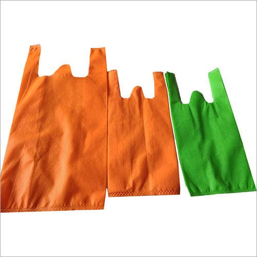Colored W Cut Non Woven Bag