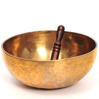 Hand Hammered Brass Singing Bowl 1.9 kg