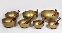 Tibetan Singing Bowls- Set of 7