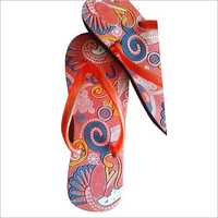 Girls Printed Slipper