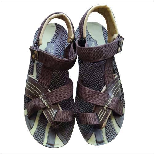 Velcro PU Leather Sandal