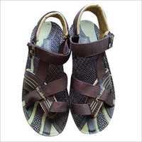 Velcro PU Leather Sandal