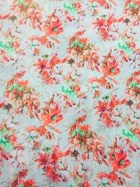 Printed Banglori Satin Fabrics