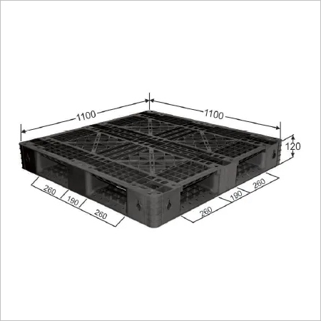 Four Way Perforated Top Export Pallets