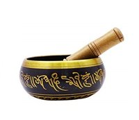 Black Tibetan Singing Bowl- Machined