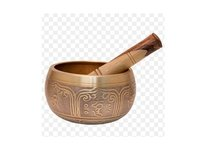 Beautiful Gold Tibetan Singing Bowl