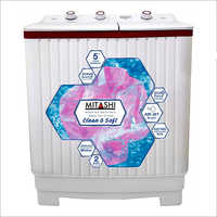 6.2 Kg Mitashi Semi Automatic Top Load Washing Machine