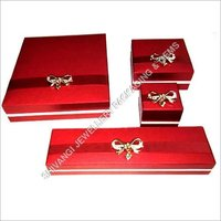 Red Brooch Jewelry Box Series