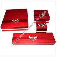 Red Brooch Jewelry Box Series