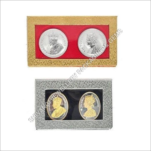 Gold And Silver Coin Box