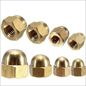 M4 Brass Dome Nut