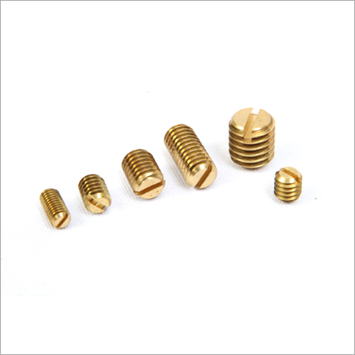 Solid Brass Grub Screw