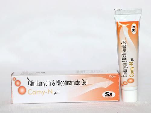 Clindamycin 1% w/w + Nicotinamide 4% w/w