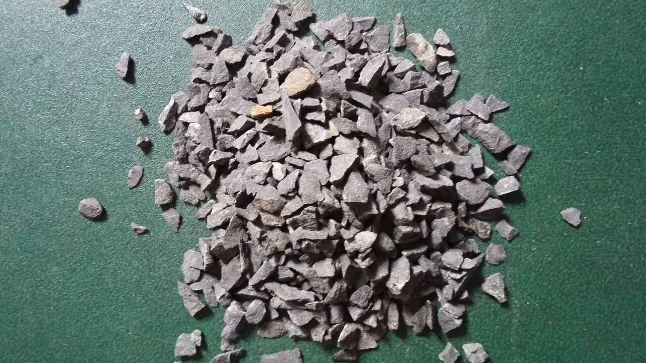 Black Granite Pea Gravel stone for industrial epoxy flooring