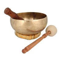 Hand Hammered Tibetan Healing Therapy Singing Bowl
