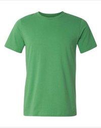Leaf Color Plain T-shirt for Men --------  Rs 70/ Piece