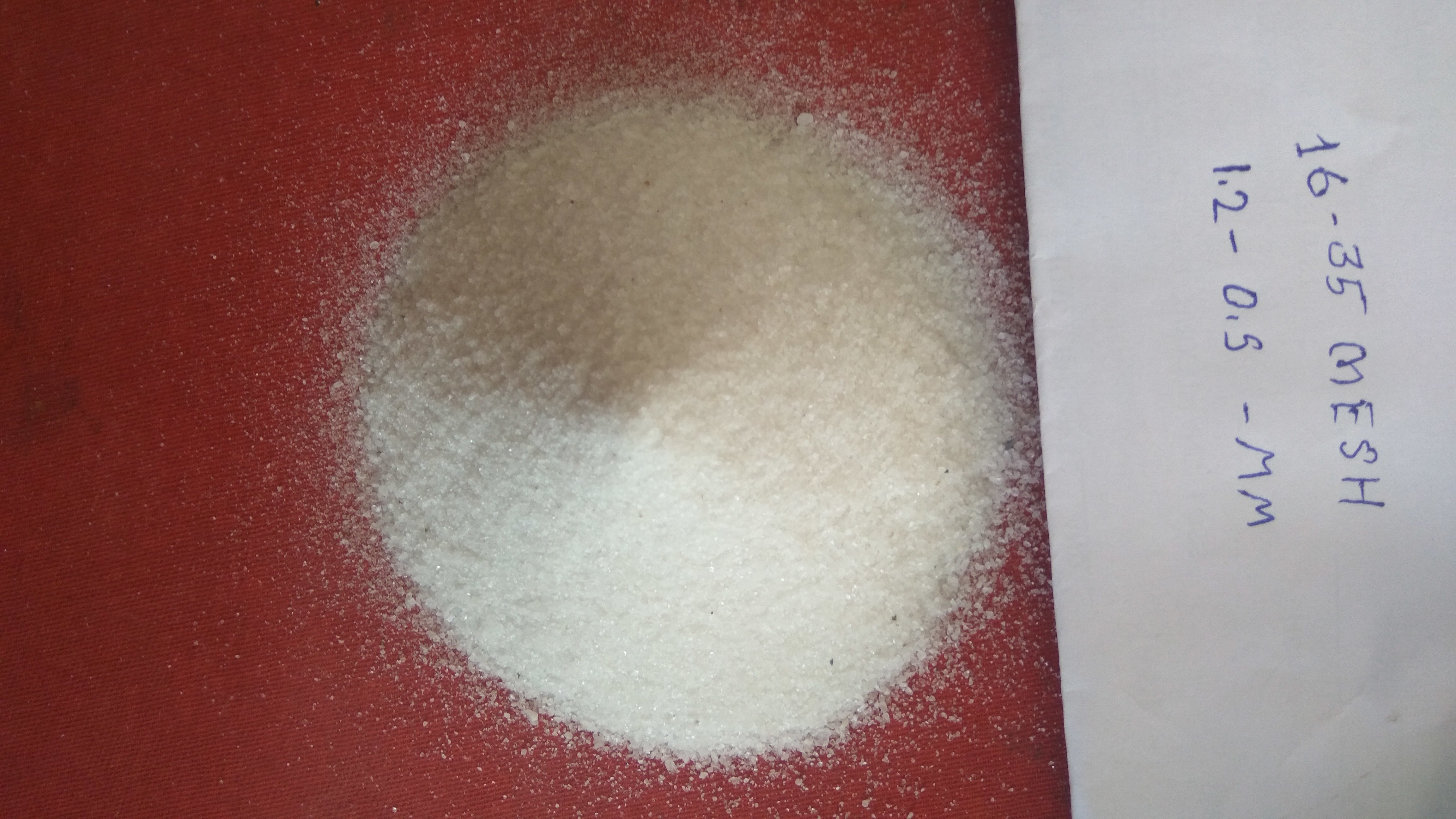 Sand Blaster Raw Material