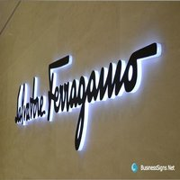 3d Led side Lit Signage