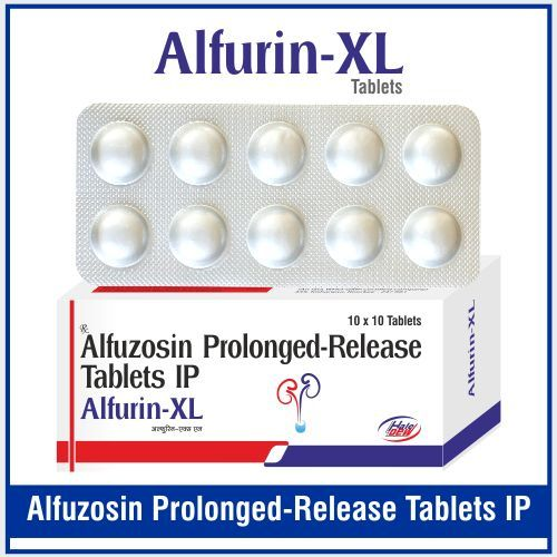 Alfuzosin 10 mg.