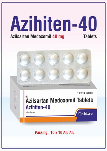 Azilsartan Medoxomil 40 mg