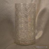 Cut Glass Flower Vase
