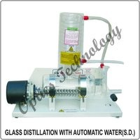 GLASS DISTILLATION WITH AUTOMATIC WATER